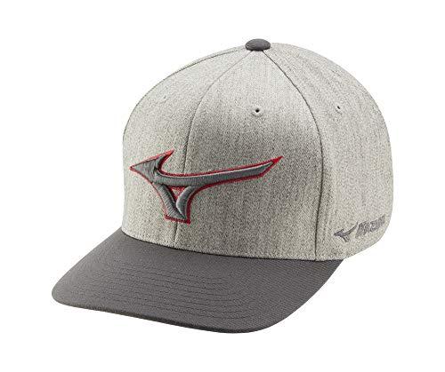 Mizuno Herren Diamond Snapback Hat, Hut, 260310.9595.10.ONE, Grau marmoriert, Einheitsgröße