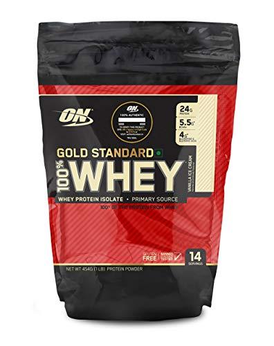 OPTIMUM NUTRITION Gold Standard 100% Whey Vanilla, 453 g
