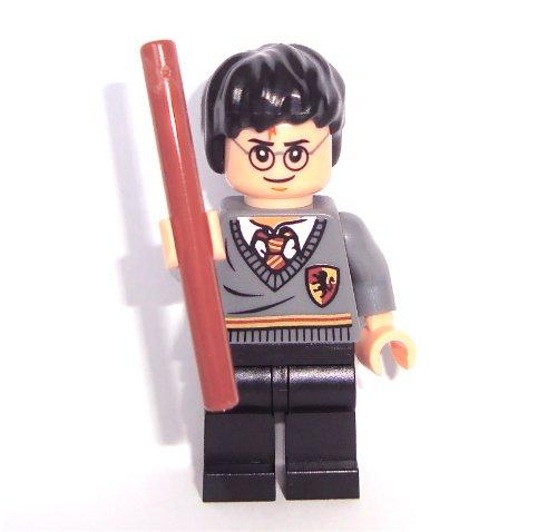 LEGO Harry Potter: Harry Potter Mini-Figurine avec Brun Baguette Magique