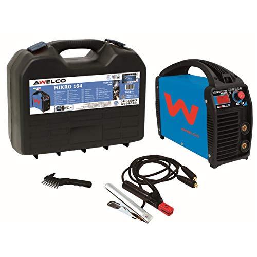 Soldador Inverter Digital MIKRO 164 MMA AWELCO Electrodos 1.6 a 4 mm 230 V monofásico