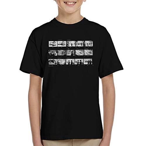 TV Times Beatles Lennon McCartney Photo Reel Kid's T-shirt