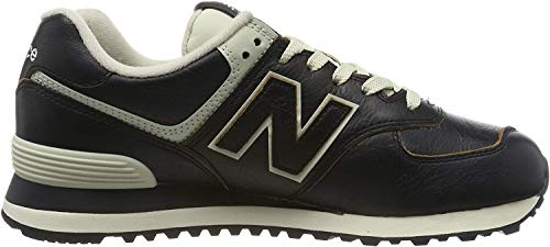 New Balance 574v2, Zapatillas Hombre, Negro (Black/Munsell White Lpk), 44 EU