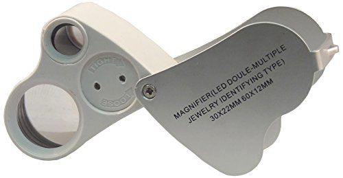Bluedot Trading jewelers-loupe-30x-60x 2 in 1 30 x 60x Magnified Jewellers Loupe, 2 in 1 30 x 60x Magnification