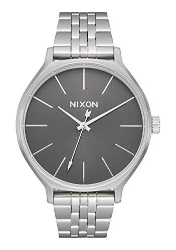 Nixon Reloj Analógico para Mujer de Cuarzo con Correa en Acero Inoxidable A1249-2762-00