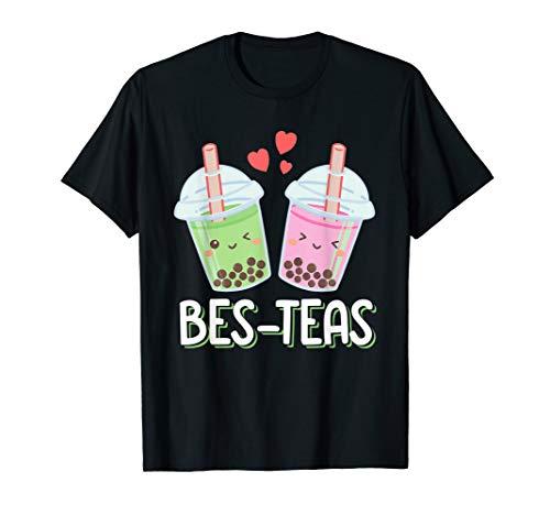 Bes Teas - Besties Kawaii Bubble Tea T-Shirt