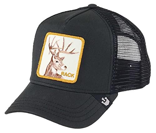 Goorin Bros. Trucker Cap Rack IT Black Schwarz, Size:ONE Size