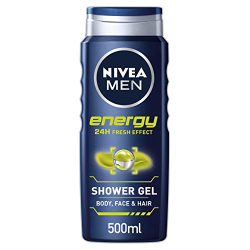Nivea men - Energy, gel de ducha, pack de 6 (6x 500 ml)