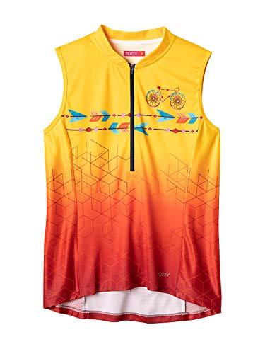 Terry Breakaway Women Top Sleeveless UPF 50+ Shirt Plus Size - Dream Chaser - 3X