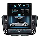 ADITION Android Touch Screen Double Din Car Stereo Tesla Player with Navigation/GPS/WiFi/Bluetooth Full
