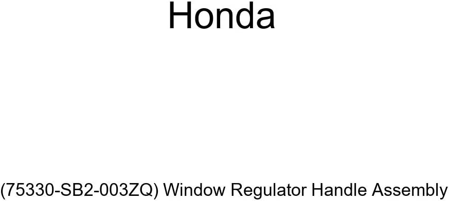 quality assurance Colorado Springs Mall Genuine Honda 75330-SB2-003ZQ Window Regulator Assembly Handle