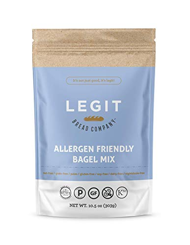 Legit Bread Company Allergen Friendly Bagel Mix, 2 Pack