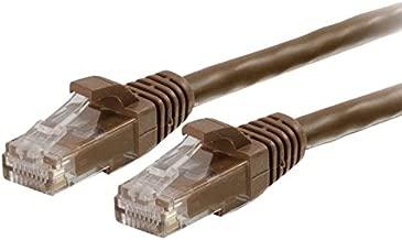 Cables To Go Cat6 550Mhz Snagless Patch Cable - Cable De Interconexión - Rj-45 (M) - Rj-45 (M) - 3 M - (Cat 6) - Moldeado, Trenzado, Sin Enganche, Forrado - Castaño