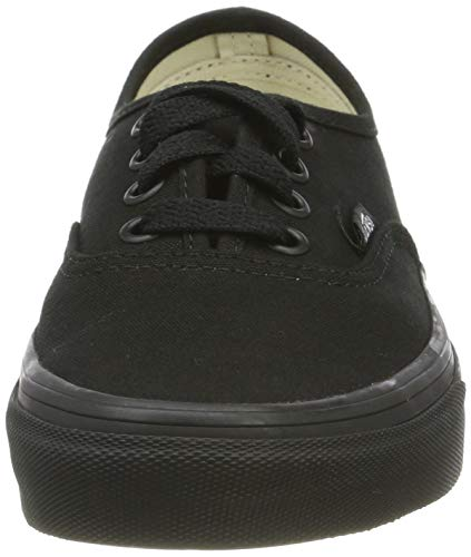 Vans Authentic Unisex Trainers Black Black - 9.5 UK