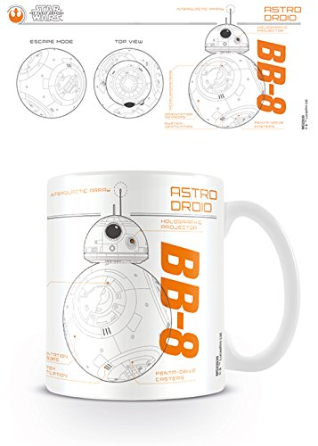 Pyramid International Taza Star Wars Episode VII BB8 Sketch, cerámica, Multicolor, Unico