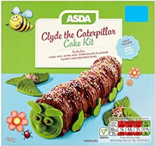 Amazoncom Asda Clyde The Caterpillar Cake Kit Grocery