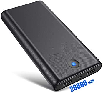 Trswyop 26800mAh Portable Power Bank with 2 USB Charging Ports