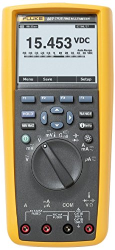 Fluke 287 True-RMS Stand Alone Logging Multimeter
