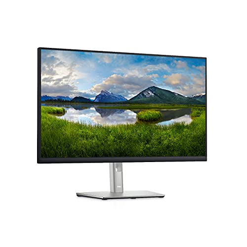 Dell Professional 27 inch Full HD Monitor – Wall Mountable, Height Adjustable, IPS Panel with HDMI,VGA DP & USB Ports – P2722H (Black)