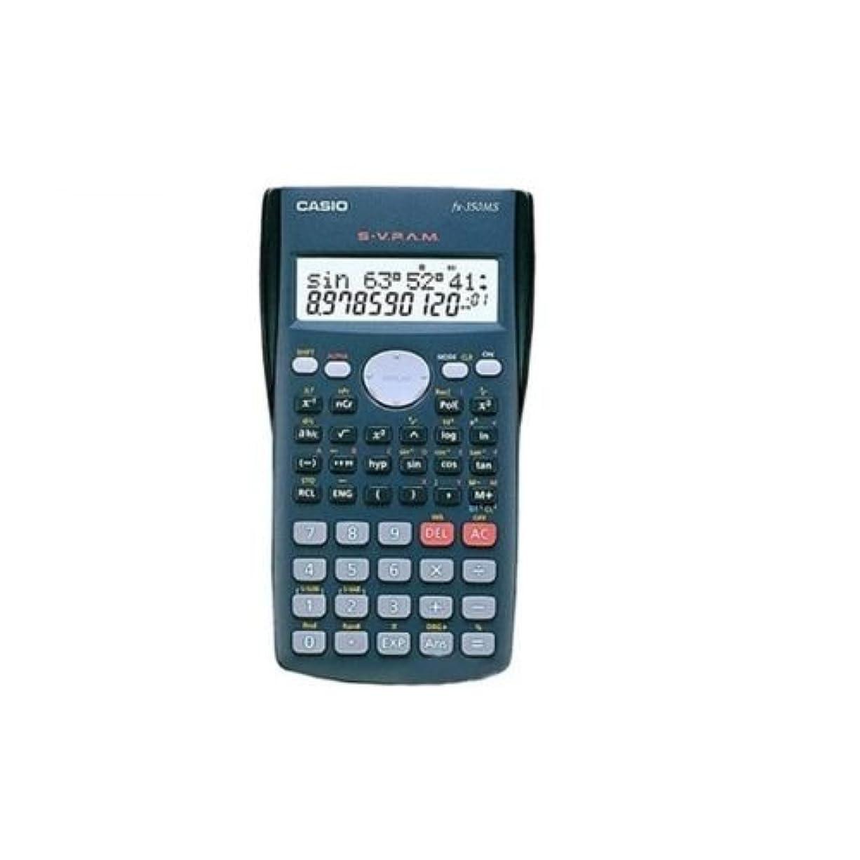 六分儀掻く君主制Casio FX-350MS の電卓 FX350MS [並行輸入品]