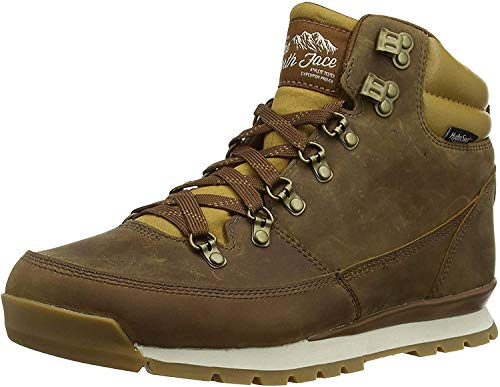 The North Face Men's Back-2-Berkeley Redux Leather, Dijon Brown/Tagumi Brown, 7.5