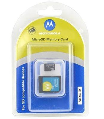 Motorola–Micro SD Memory Card 1GB