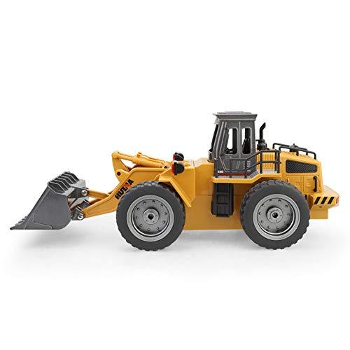 RC Baufahrzeug kaufen Baufahrzeug Bild 1: omufipw 2,4 G Funksteuerung Bulldozer Frontlader Baufahrzeug Elektronisches Spielzeug RC Truck Traktor Junge Geschenk*