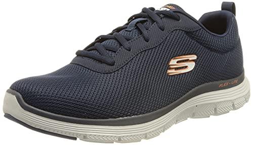 Skechers Flex Advantage 4.0, Scarpe da Ginnastica Uomo, Marina Militare, 42 EU