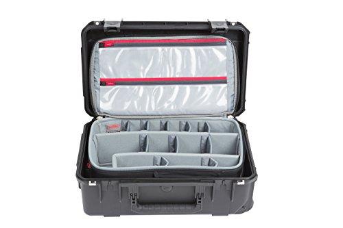 SKB Cases iSeries 3i-2011-7 Case with Think Tank Designed Photo Back Pack, Black (3i-2011-7BP)