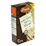 Whole Wheat Matzo Meal, Kosher for Passover Matzo Meal, Kosher Certified, 16 Oz (Single)