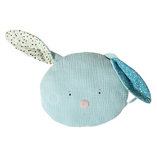 Moulin Roty Coussin Lapin Bleu
