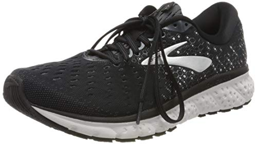 Brooks Glycerin 17, mens Running, Schwarz (Black/Ebony/Silver), 44 EU