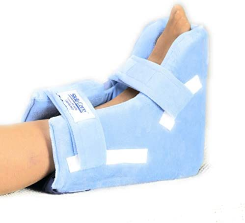 Skil Care Heel Float Heel Protector Pressure Relieving Pillow Boot 4 Inch Wide Medium Pack of product image