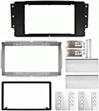 Carxtc Double Din Install Car Stereo Dash Kit for a Aftermarket Radio Fits 2006-2009 Land Rover Range Rover Sport Trim Bezel is Painted to Match The Factory Finish
