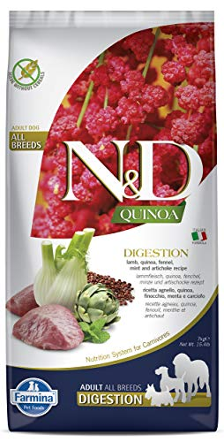 N&D Hund Quinoa Digestion Lamm 7kg