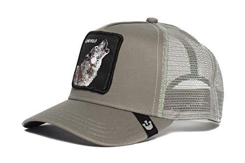 Goorin Bros. Trucker Cap Wolf Grau, Size:ONE Size