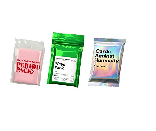 Cards against Humanity Weed Period Pride Expansion Packs