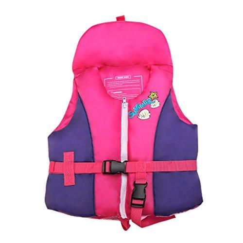 Kids Zwem Float Vest - Baby Jongens Meisjes Zwemvest Peuter Drijvende Jas Bouyancy Badpak Badmode 1-4 Jaar