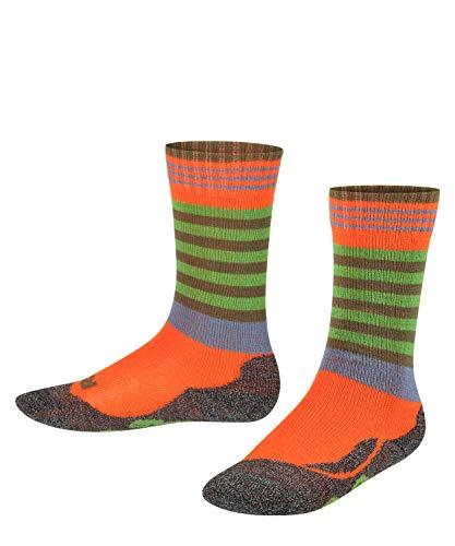 FALKE Unisex Kinder Frog Socken, orange (tangerine 8094), 23-26