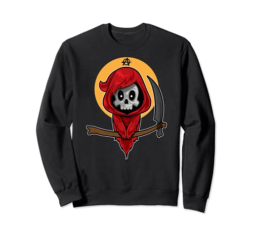 Disfraz de Anarquista de Halloween para regalo de Grim Reaper Sudadera