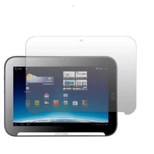 Slabo 2 x Bildschirmschutzfolie Medion Lifetab P9516 Bildschirmschutz Schutzfolie Folie Crystal Clear unsichtbar Aldi-Tablet Made IN Germany