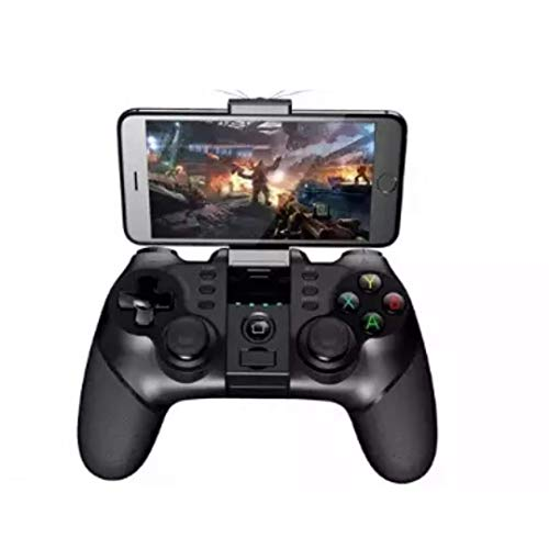 Wireless Gamepad Best Bluetooth Game Controller PG-9076 Joystick with 2.4G Dongle for Android Cell Phone iPhone iPad PC Tablet TV PS3