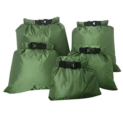 IPOTCH Dry Bag Impermeabile Sacco con 5 Misure per...