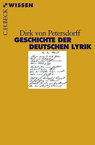 Geschichte der deutschen Lyrik (Beck'sche Reihe)