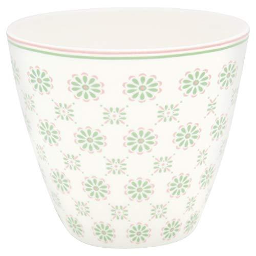 GreenGate - Tasse, Becher, Kaffeebecher, Latte Cup - Mila - Porzellan - Höhe 9 cm