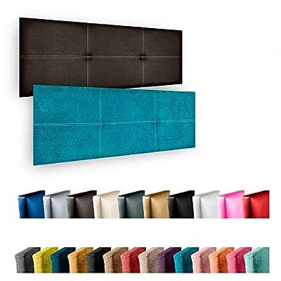 🛌🏽 Cabecero con diseño de doble costura. Cabecero de cama tapizado en polipiel Azahar de alta calidad💯 🛠️No requiere montaje, solo colgar a pared, contiene herrajes de fijación.Ideal para dar un toque personal a tu habitación, adaptarlo a tu estilo y...