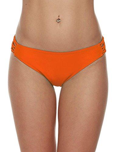 Wlone Women Brazilian Bikini Bottom Swimsuit...