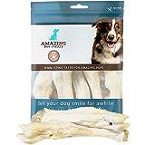 Lamb Feet Dog Bone - (5 Pc/Pack) - No Hide - Safe Non Rawhide Alternative Dog Chew - Great for Power Chewers - Long Lasting Dog Chew - Keeps Teeth Clean - 100% Natural Lamb Feet Bones