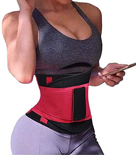 Vrouwen Waist Trainer Riem Voor Gym Taille Protect Waist Trimmer Belt Met Tummy Trimmer Belt Body Shaper Voor De Zomer,S