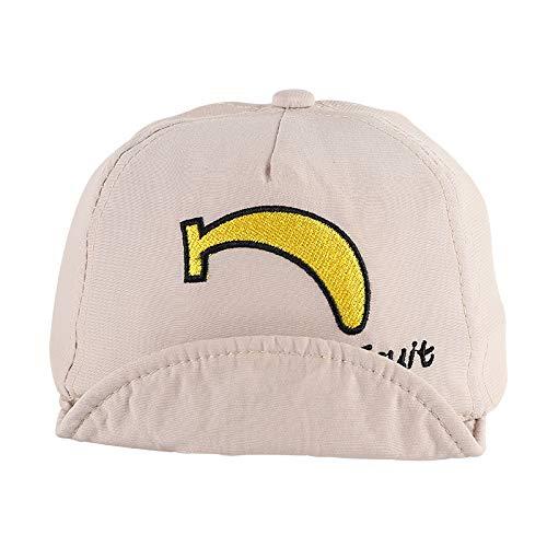 Sombrero para niños, Estilo de Primavera y Verano, Fruta de algodón Coreana, Sonriente, Gorra de ala Suave, sombrilla Linda, Sombrero para bebé