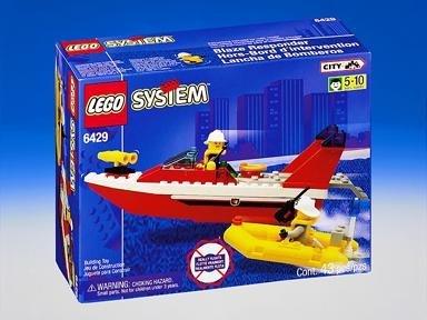 Lego City Center Blaze Responder 6429